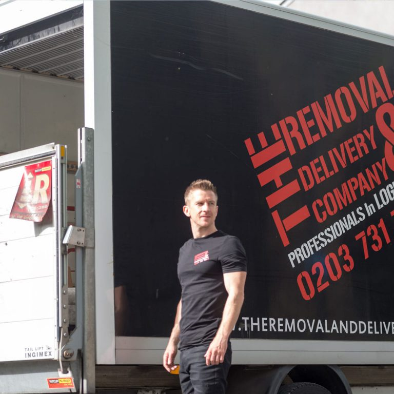Our removal and delivery vehicle